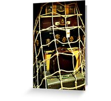 "photoj ""Old Time Luggage To Go"" Greeting Card"