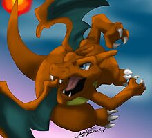 #6 Charizard by ajemerson21
