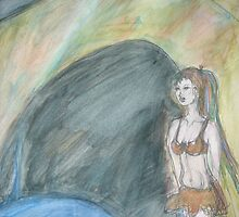 Cave Goddess by Anthea  Slade