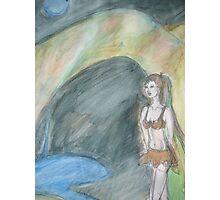 Cave Goddess Photographic Print
