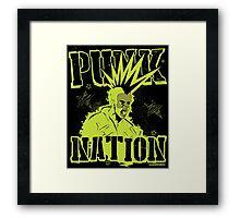 Punk Nation Framed Print