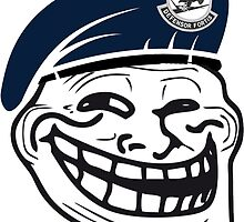 USAF Security Trollface by ajh1138