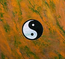Yin Yang Stone by Michael Creese
