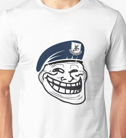 USAF Security Trollface Unisex T-Shirt