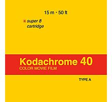 Kodachrome 40 (Type A) Photographic Print