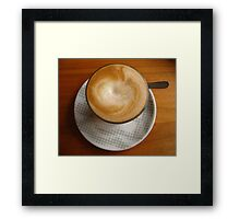 The Perfect Brew Framed Print
