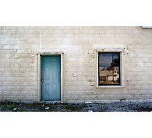Blue Door Photographic Print