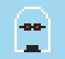 Retro Mr Freeze by daveypixel