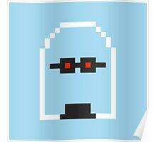 Retro Mr Freeze Poster