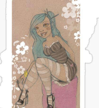 Lolita & Blossoms Sticker