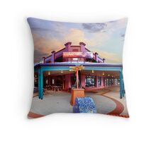 Ochre Restaurant Throw Pillow