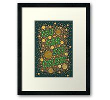 Colorblind!  Framed Print
