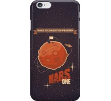 Mars colonization project iPhone Case/Skin