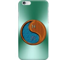 Pisces & Rooster Yin Wood iPhone Case/Skin