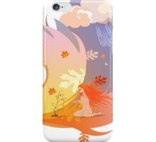 Autumn Angel iPhone Case/Skin