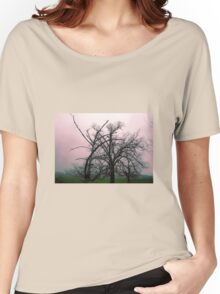 Trees in mist, Gippsland  Women's Relaxed Fit T-Shirt