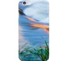 Colorful Reflections Flowing in Mill Creek iPhone Case/Skin