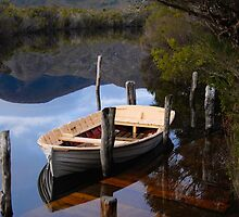 Boat Jetty - Melaleuca, South West Tasmania by Rick Box