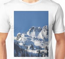 Beautiful Snowy Sunny Mountain Unisex T-Shirt