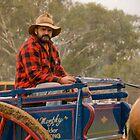 True Blue Cart Man by James Vereker