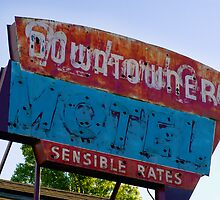 Motel Downtowner - Flagstaff - AZ by Rick Box