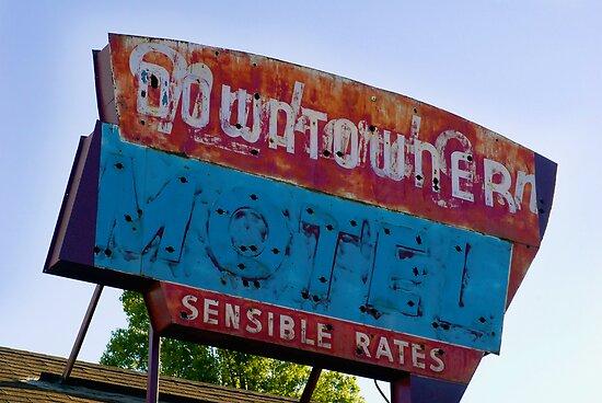 Motel Downtowner - Flagstaff - AZ by Rick Box