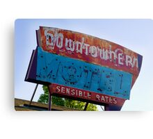 Motel Downtowner - Flagstaff - AZ Metal Print