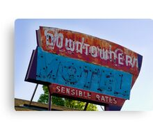Motel Downtowner - Flagstaff - AZ Canvas Print