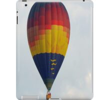Colorful Hot Air Balloon  iPad Case/Skin
