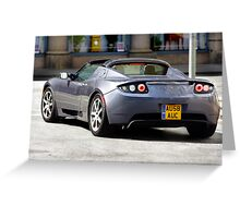 Topless Tesla Greeting Card