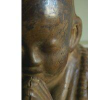 Shaolin Monk Photographic Print