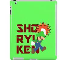 WIGI の 昇龍拳 (Luigi's Shoryuken) iPad Case/Skin