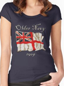 Older Navy; 1509 Women's Fitted Scoop T-Shirt