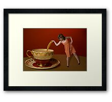 Short and Stout Framed Print