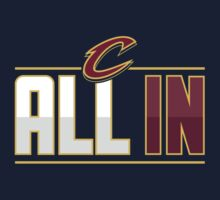 Cleveland Cavaliers ALL IN Playoff shirt and more by HawaiianGuy