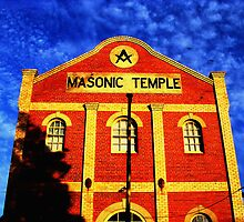 Masonic Temple - Queenscliffe, Victoria, Australia by Rick Box