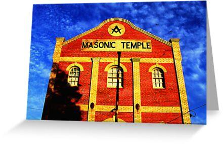 Masonic Temple - Queenscliffe, Victoria, Australia by Rick Box