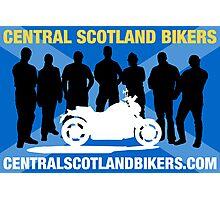 Central Scotland Bikers Photographic Print