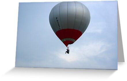 Man and Balloon Sky Hopper by ienemien