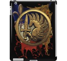 French Foreign Legion Para w Background iPad Case/Skin