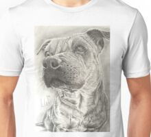 Staffy Unisex T-Shirt
