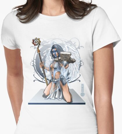 The Game of Kings, Wave Two: The White King's Bishop Womens Fitted T-Shirt
