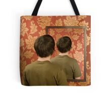 Magritte Mirror Tote Bag