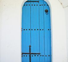 The Blue Door by michelleduerden
