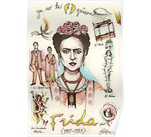 A Lust For Life: The World Of Frida Kahlo ( 1907-53 ) Poster