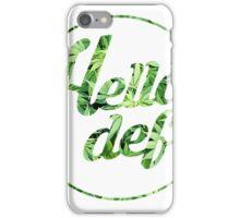Hella Def Collective iPhone Case/Skin