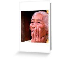 Oh! No! Ubud, Bali Greeting Card