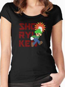 WIGI の 昇龍拳 (Luigi's Shoryuken) Women's Fitted Scoop T-Shirt