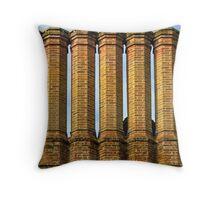 Tudor Chimneys - Ightam Mote Throw Pillow