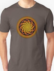 The orange / yellow mandala T-Shirt